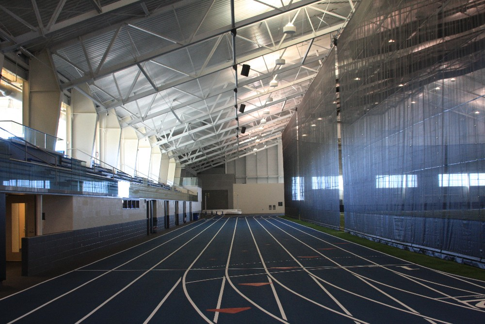 Kelly Family Sports Center Track Lower View
